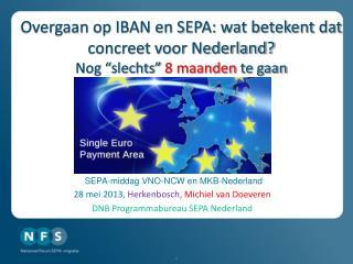 Overgaan op IBAN en SEPA: wat betekent dat concreet voor Nederland?