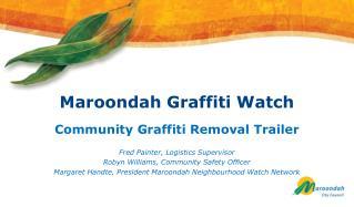 Maroondah Graffiti Watch