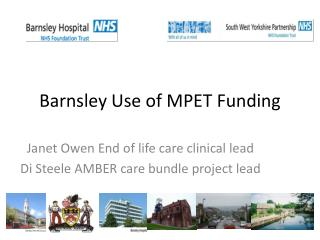 Barnsley Use of MPET Funding