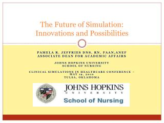 The Future of Simulation:   Innovations and Possibilities