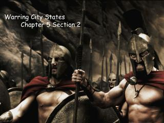 Warring City States Chapter 5 Section 2