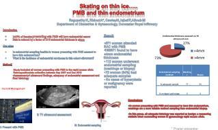 Skating on thin ice….. PMB and thin  endometrium