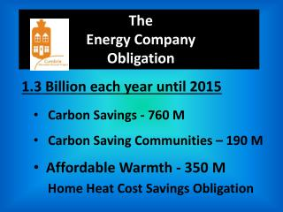 The  Energy Company  Obligation