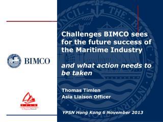 Thomas  Timlen Asia Liaison Officer