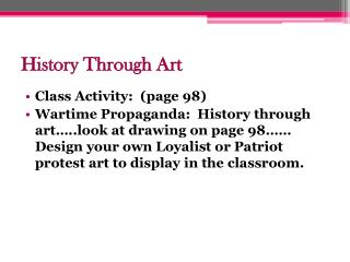 History Through Art