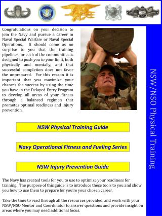 NSW/NSO Physical Training