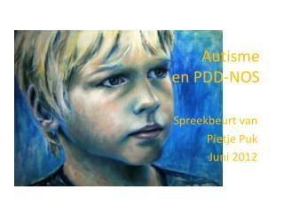 Autisme  en PDD-NOS