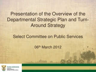 Municipalities Deliver  Best Practices for Rationalizing  Municipal Services Service Delivery Review and Improvements i