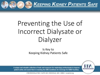 Acid Concentrate in Dialysis: Role,Production,Testing  Record Keeping
