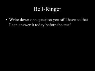 Bell-Ringer