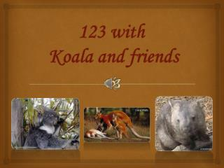 123 with  Koala and friends