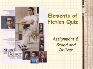 Elements of Fiction Quiz