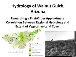 Hydrology of Walnut Gulch, Arizona
