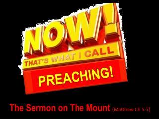 PREACHING !