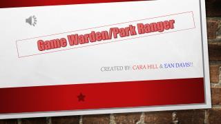 Created by:  Cara Hill  &  Ean Davis !!