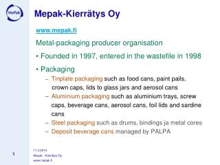 Mepak-Kierr tys Oy