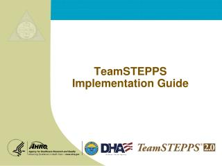 TeamSTEPPS Implementation Guide