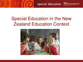 Special Education in the New Zealand Education Context