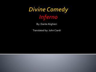 Divine Comedy Inferno