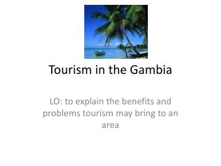 Tourism in the Gambia