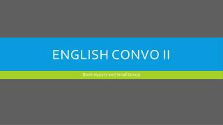 English Convo II