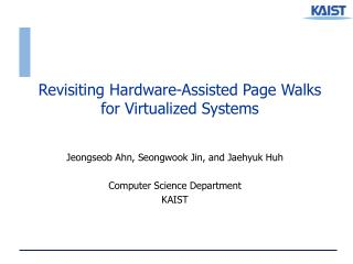Revisiting Hardware-Assisted Page Walks for Virtualized Systems