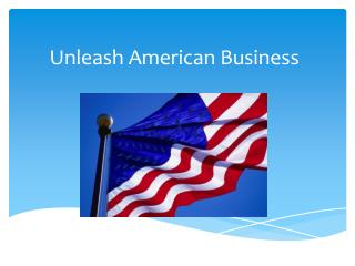 Unleash American Business