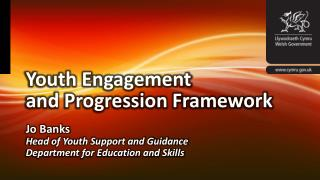 Youth Engagement and Progression Framework