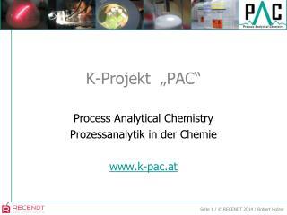 """K-Projekt  """"PAC"""""""