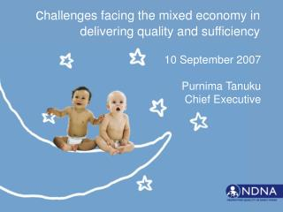 Challenges facing the mixed economy in delivering quality and sufficiency