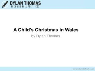 A Child�s Christmas in Wales
