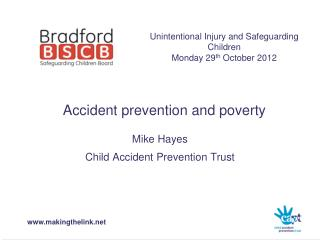 Accident prevention and poverty