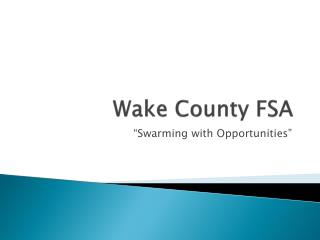 Wake County FSA