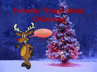 Favorite Things about Christmas
