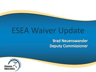 Brad Neuenswander Deputy Commissioner