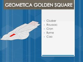 GEOMETICA GOLDEN SQUARE
