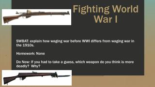Fighting World War I