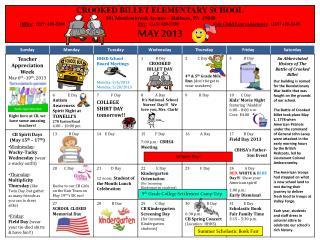 CROOKED  BILLET ELEMENTARY  SCHOOL