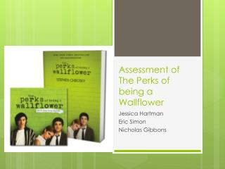 Assessment of The Perks of being a Wallflower