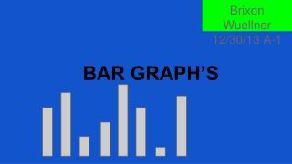 BAR GRAPH'S