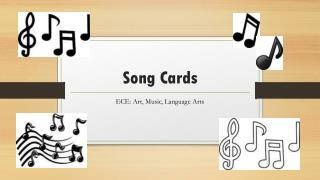 Song Cards