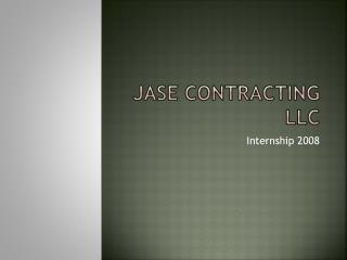 JASE Contracting LLC