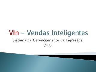 VIn - Vendas Inteligentes