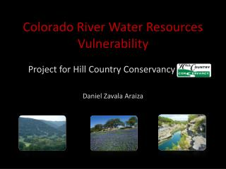 Colorado River Water Resources Vulnerability