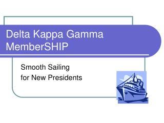 Delta Kappa Gamma MemberSHIP