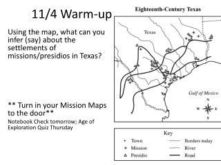 11/4 Warm-up