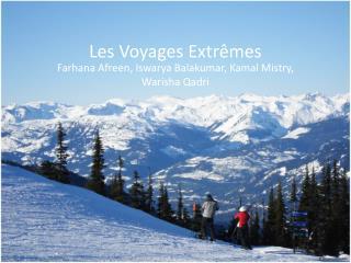 Les Voyages Extrêmes