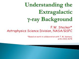 Understanding the Extragalactic  g -ray Background