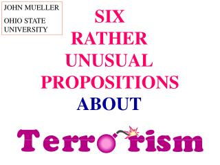 SIX  PROPOSITIONS