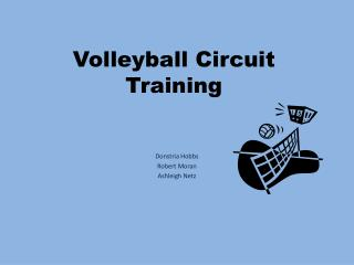 Volleyball Circuit Training